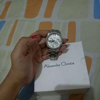 Jam tangan wanita alexandre chistie (ac)