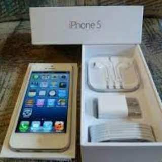 Iphone 5 64 gb with complete set and free case