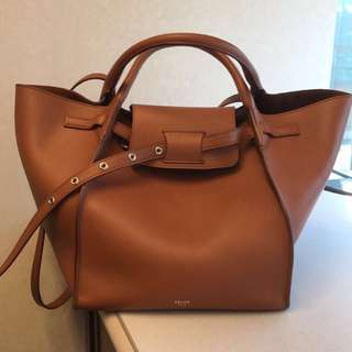 Celine small Big Bag with long strap