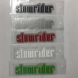 Motocycle stickers size 13x4cm