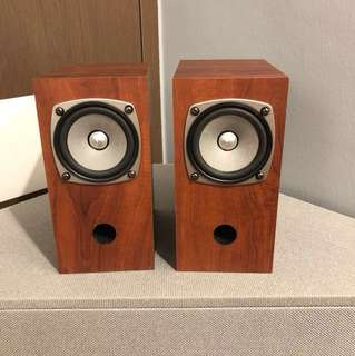 Fostex full range speakers