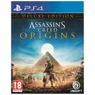PS4 Assassins Creed Origins Deluxe Edition R3