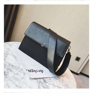Korean style black bag