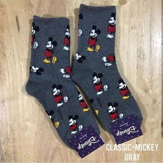 LOW PRICE‼️Classic Mickey Mouse Gray Socks