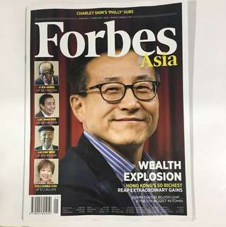 Forbes Asia (Jan/Feb 2018)