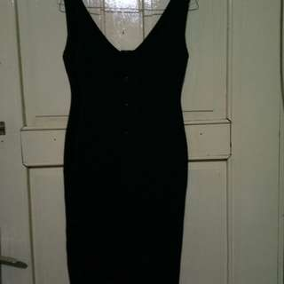 Dress bahan rajut