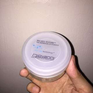 Giovanni Eco Chic Hair Care Wicked Texture The Definition of Pomade 2oz, 57g