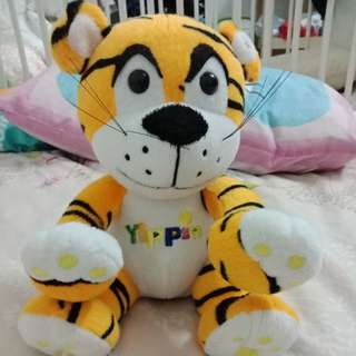Tiger coin bank doll