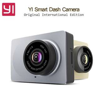 "High Spec Edition 165 Degree Xiaomi Xiaoyi Yi 2.7"" Car Camera Simple Reliable Dash Cam Data Recorder Camera Support ADAS & Wifi Dashcam Xiaoyi DVR Wifi New 1080p HD 1296P English"