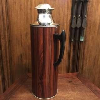懷舊駱駝牌「木紋」熱水壺