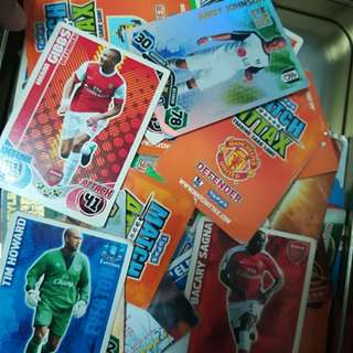 Match Attax Full Set Card