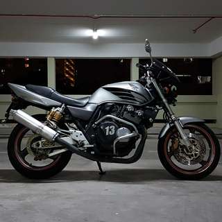 Super 4 Spec 1 CB400 Mar 2021 (Honda CB 400 Super4 Spec1)