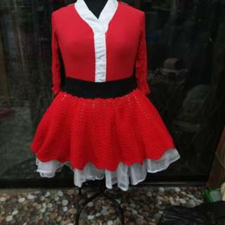 Plus Size Mrs Claus Cosplay Costume