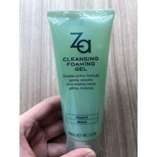 ZA Cleansing Foaming Gel, 140mL