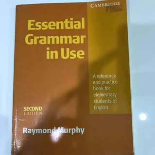 Cambridge Essential Grammar in Use 2nd Edition
