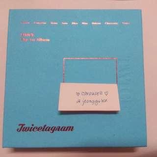 TWICETAGRAM ALBUM W/O PO BENEFITS AND POSTER