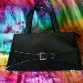 Ferragamo Handbag In Black