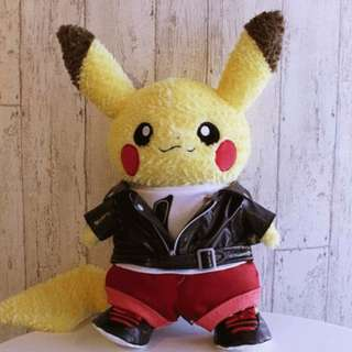 Pokemon Center Exclusive Pikachu Closet Clothes Rider Costume (Pre-order)