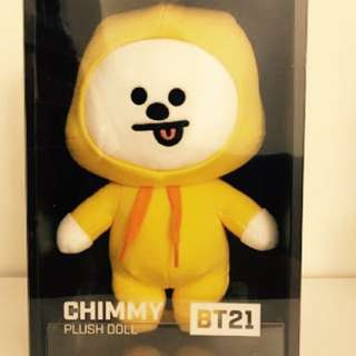 ONHAND official BT21 Chimmy Standing Doll