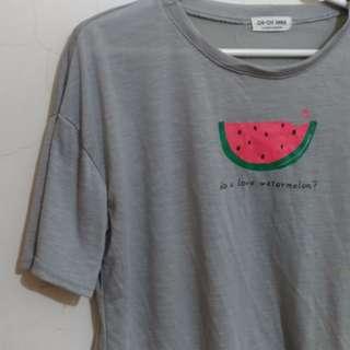 🆗換物 M~L西瓜T恤