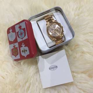 Fossil Gold Woman Watch