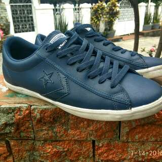 Converse Cons Leather Navy