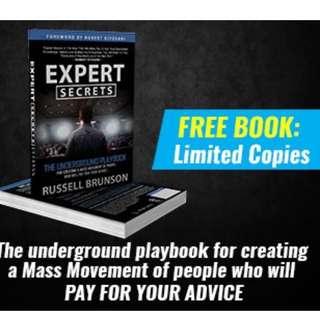 FREE Book : Expert Secrets