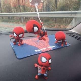 Car dashboard display-Spiderman set