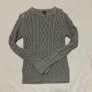 H&M Moss Green Knit Pullover