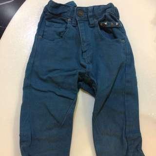 ZARA Skinny Pants Blue