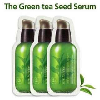 Innisfree Greentea Seed Serum 1ml