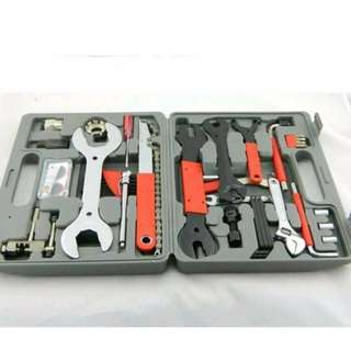 Brand New Universal 44pcs Bicycle Repair Toolbox Toolset Tools Set Tools Kit