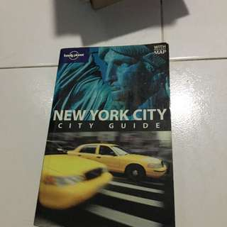 NYC lonely planet
