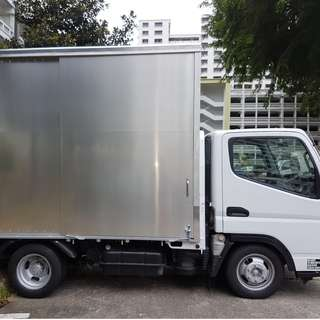 10ft box lorry rental