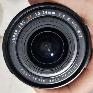 Fuji 10-24mm F4