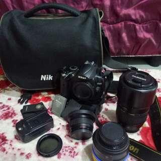 Nikon D5000 untul dijual