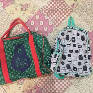 COTTON ON bags for 2 items