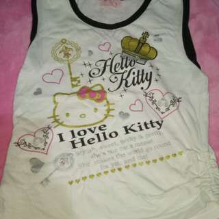 Hello Kitty Tops 7-9yrs old