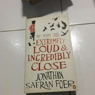 Extremely loud and incredibly close by Foer