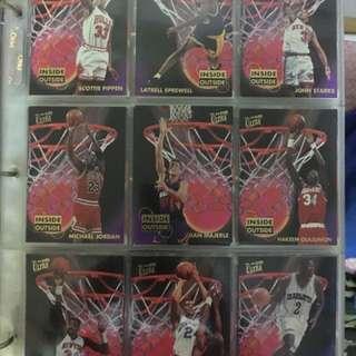 NBA球星卡一套