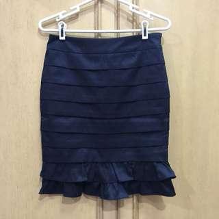 Party Navy Skirt - Rok Navy untuk Pesta