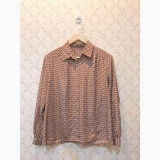 🚚 日本製民族風古著襯衫vintage