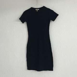 Body con dress Navy Blue