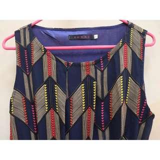 PATTERN Dress with zips