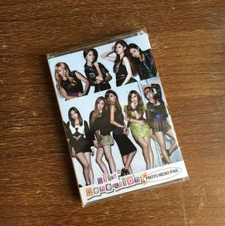 Girls generation photo memo pad