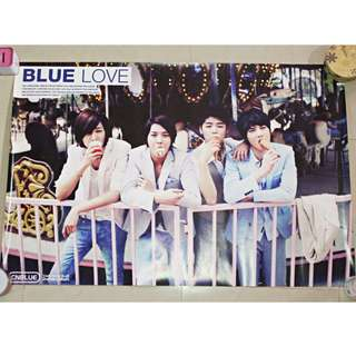 CNBlue Blue Love Poster