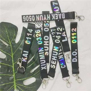 EXO Unofficial Keychain