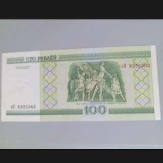 俄羅斯100盧布