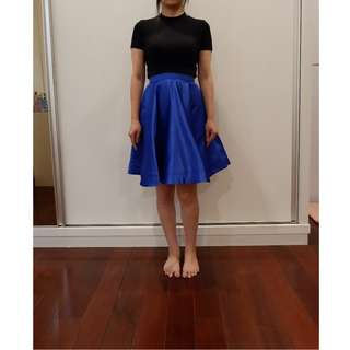 ELECTRIC BLUE SKIRT / ROK