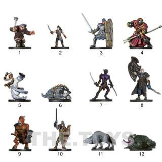 Dungeons & Dragons Miniatures 2005 Deathknell - Random Piece Sales